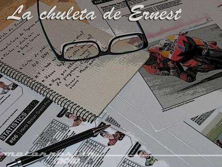 MotoGP Valencia 2013: la chuleta de Ernest