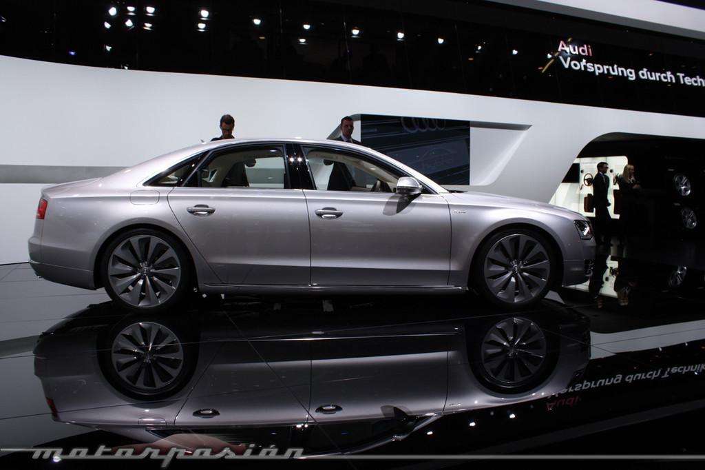 Foto de Audi A1 y A8 híbridos en el Salón de Ginebra (2/18)