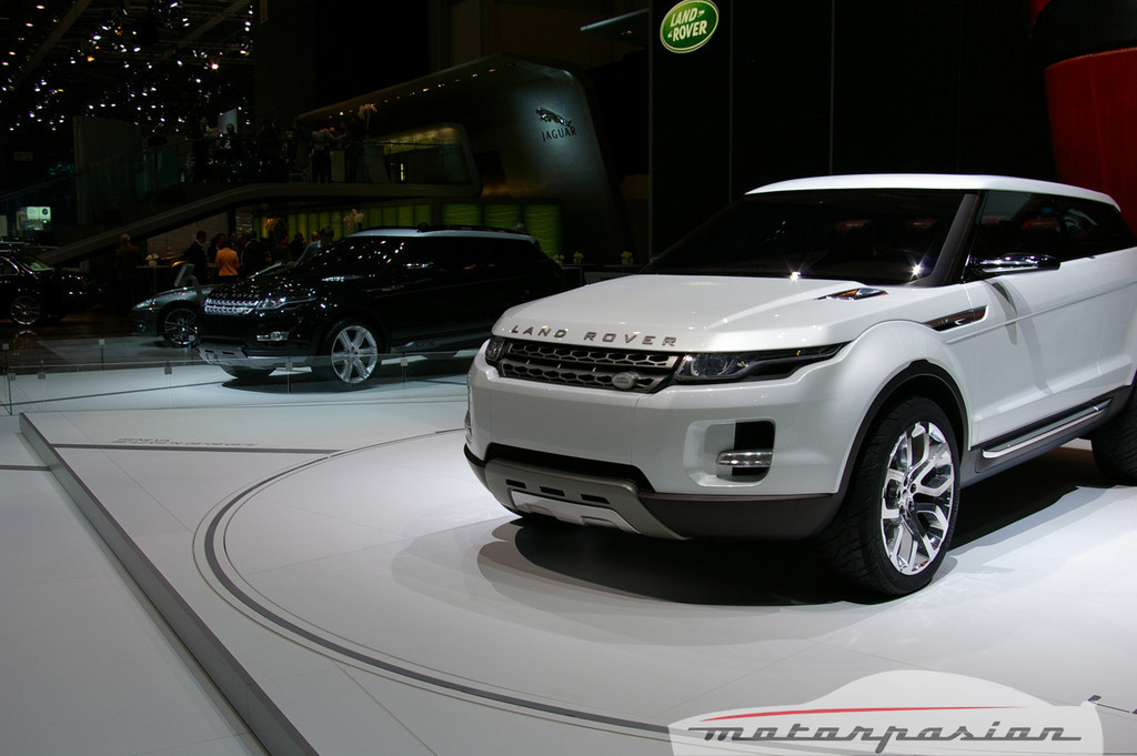 Land Rover LRX Concept en el salón de Ginebra