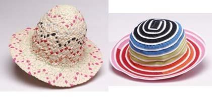 Bonitos sombreros de verano para niños