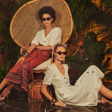 11 vestidos de Zara con los que arrasarás en la Feria de Abril sin vestirte de flamenca