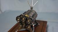 El último motor en miniatura de Patelo, un W18