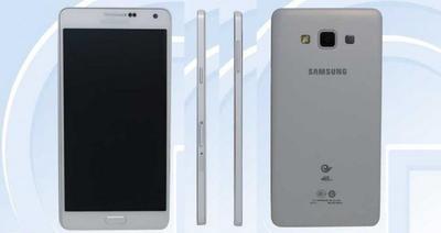 Galaxy A7, es el smartphone más delgado de Samsung