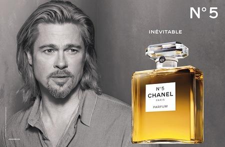 Es inevitable hablar de Brad Pitt junto a Chanel