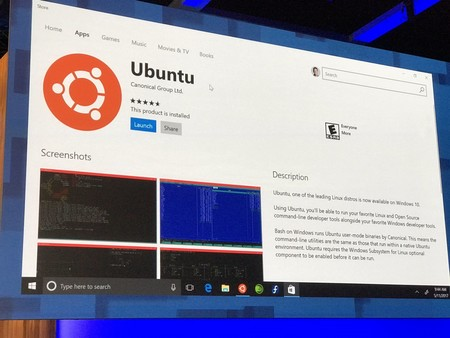 Windows Store Ubuntu
