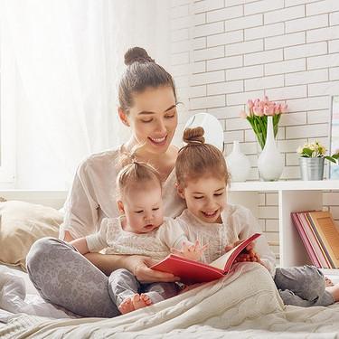 Leerle a tus hijos desde bebés ayuda a que conozcan más de un millón de palabras al cumplir los cinco años