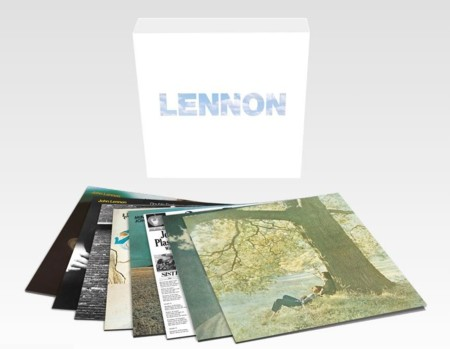 Los ocho discos en solitario de John Lennon reunidos en una colección en vinyl