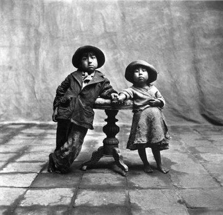 Niños, Irving Penn