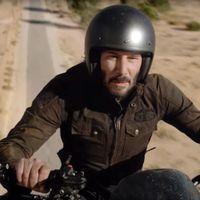 Y así es como Keanu Reeves, su moto y EE.UU. vuelven a darnos una lección sobre hacer anuncios ingeniosos