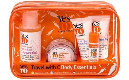 Yes To Carrots: kit de viaje para verano