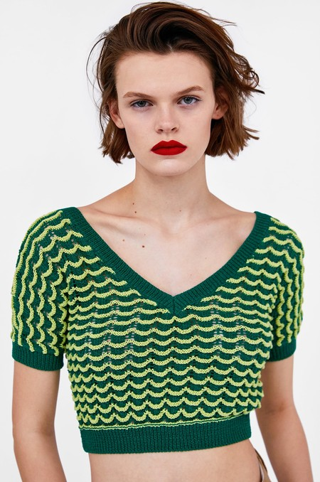 Cropped Top Zara Rebajas 07