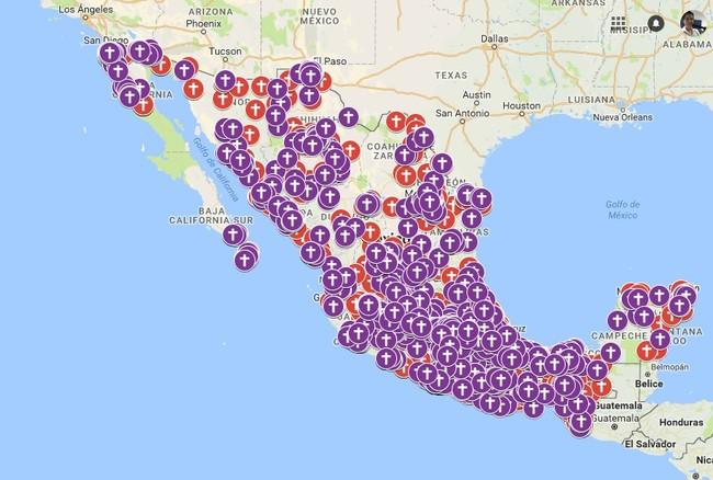 La creadora del mapa de feminicidios en México presenta su creación ante el Senado