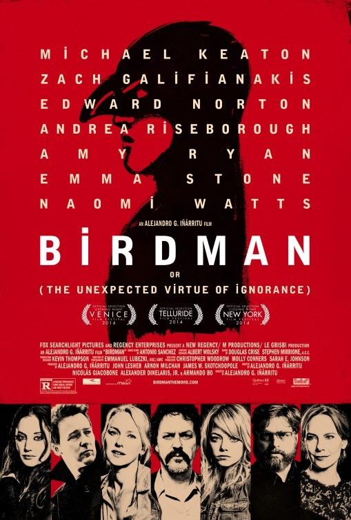 Foto de 'Birdman (o la inesperada virtud de la ignorancia)', carteles (3/15)
