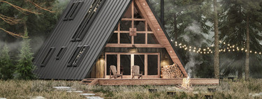 Construir tú mismo tu propia cabaña es posible con Ayfraym. ¿Te atreverías a emprender un proyecto así?