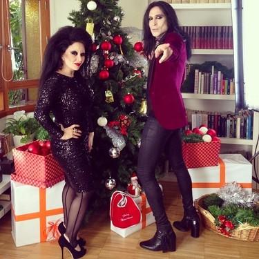 ¡Marchando una de felicitaciones navideñas de los famosos!