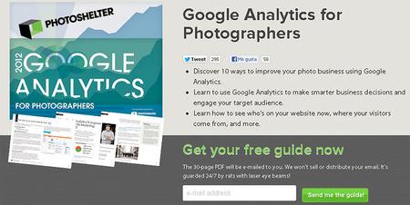 Google Analytics para Fotógrafos