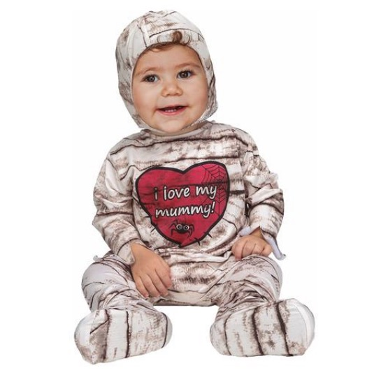 Disfraz Bebé - Baby Mummy 7-12 meses