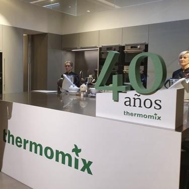 Thermomix cumple 40 años con su primera tienda física en Madrid (pero que sólo abrirá este fin de semana)