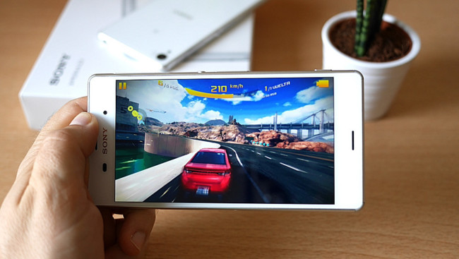 Sony Xperia Z3 Screen