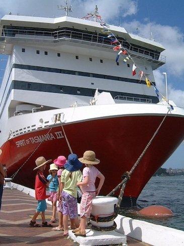 Actividades para niños en un crucero