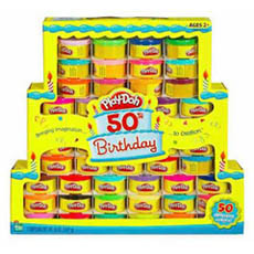Tarta de plastilinas 50 aniversario de Play-Doh