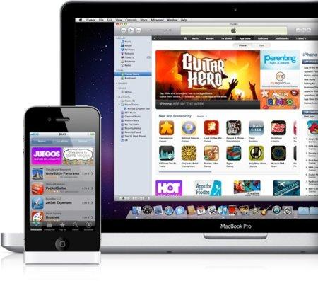 iPhone 4, iTunes