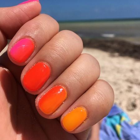 Si las manicuras multicolor te alucinaron, llegan las ombré nails para seguir sumando más tonalidades a nuestras uñas