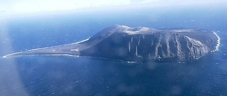 Surtsey From Plane 1999
