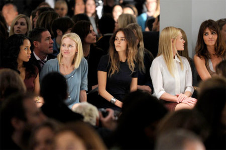 Front-row Semana Moda NY FW10