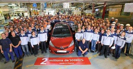 Dos millones de Toyota Yaris corren por el mundo