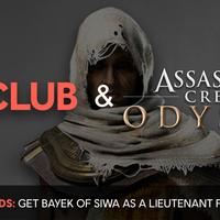 Assassin's Creed Odyssey: ya puedes desbloquear a Bayek como lugarteniente de la Adrastea