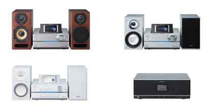Sony presenta nuevos equipos musicales WiFi DNLA