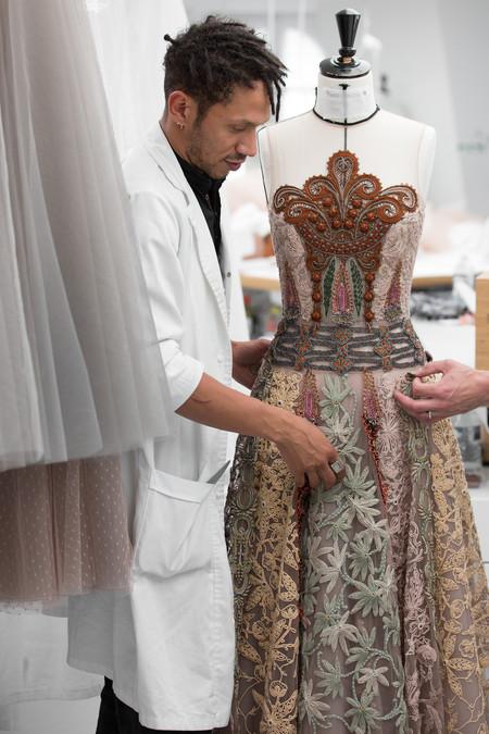 Dior Haute Couture Autumn Winter 2018 19 Savoir Faire Look 36 C Sophie Carre