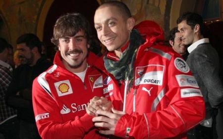 ¿Fernando Alonso y Valentino Rossi juntos en las 24 horas de Le Mans?