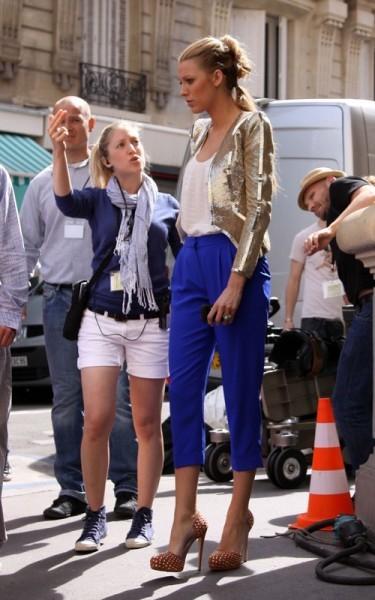 Foto de Primeras imágenes del rodaje de la cuarta temporada de Gossip Girl (3/5)