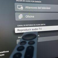 El nuevo Apple TV 4K ya permite sacar audio del televisor y enviarlo a los altavoces HomePod con la última beta de tvOS