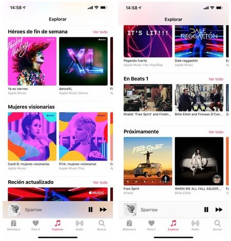 Nuevo Apple Music 2