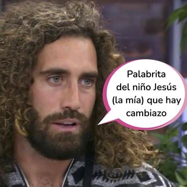 Raúl Gines (Jesucristo Surferstar) se mofa de la manipulación de las imágenes emitidas en 'La Isla de las Tentaciones 3'
