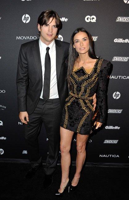 Demi Moore de Balmain en los Premios GQ