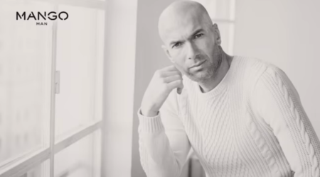 Zinedine Zidane es fichado por Mango para su campaña SS 2015