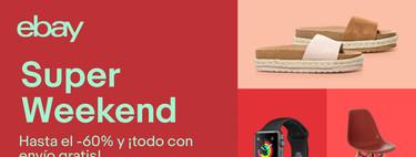 Regresa el Super Weekend en eBay: las 17 mejores ofertas desde el iPad a la PS4