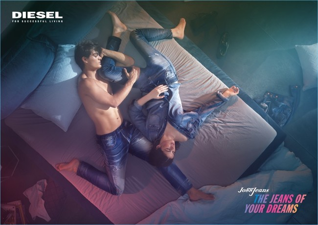 Diesel Jogg Jeans Fall Winter 2017 Campaign 001