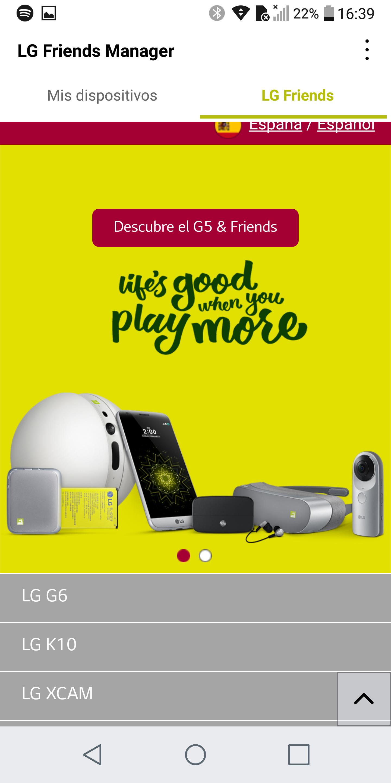Foto de LG G6, interfaz de usuario (31/47)