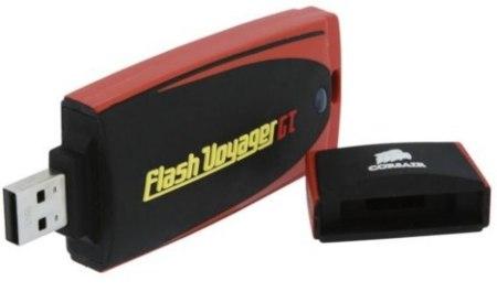 Corsair Flash Voyager GT de 128 GB, la gama alta de las memorias USB