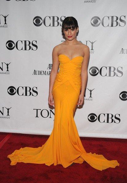 Todas las asistentes a los Tony Awards 2010: Lea Michele