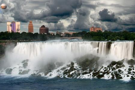 Niagara Falls Before A Rain Storm 2007