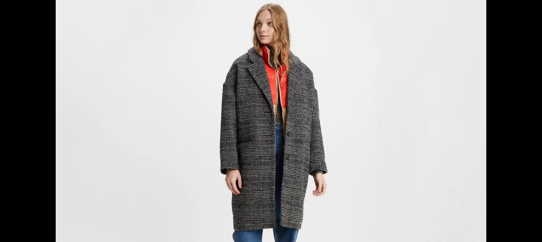 Wool Cocoon coat Levi's