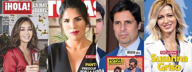 Isabel Preysler reforma su casa, Chabelita teme por la salud de Isabel Pantoja y Susanna Griso rompe su matrimonio: estas son las portadas del miércoles 23 de diciembre