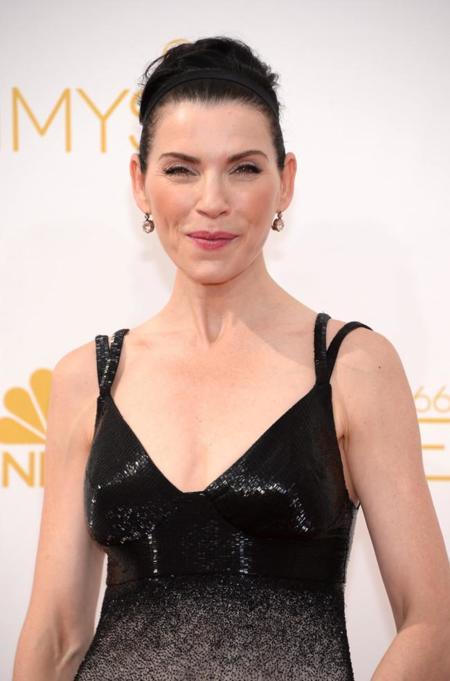 Julianna Margulies es la buena esposa de Narcisco Rodriguez en los #Emmys2014