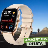 En oferta flash, hoy Amazon te deja el Amazfit GTS en color dorado por sólo 107,94 euros